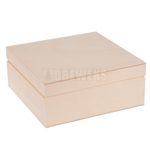 Tea box - 6 compartments lime wood