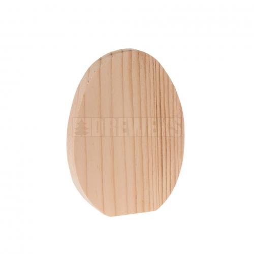 Drewniane jajko na piku