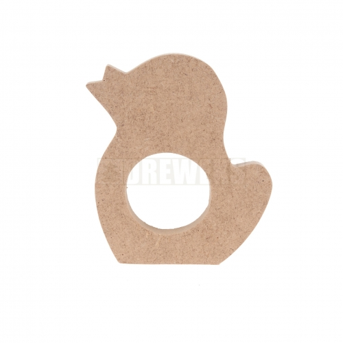 Chicken shaped egg stand / napkin ring - MDF material