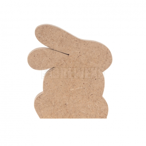 Rabbit - MDF material