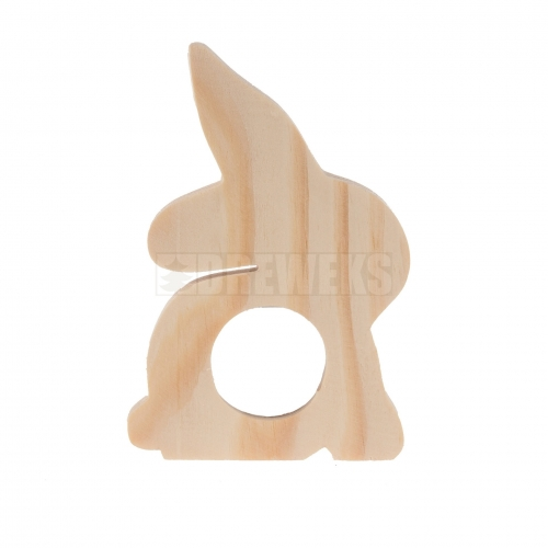 Rabbit napkin ring / egg stand