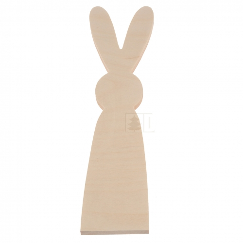 Standing Easter bunny - big - plywood