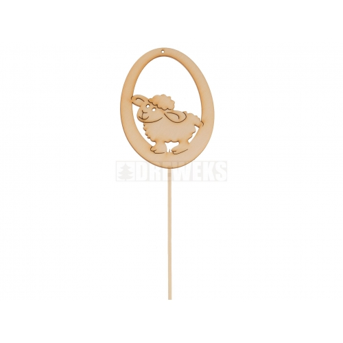 Egg sheep + stick