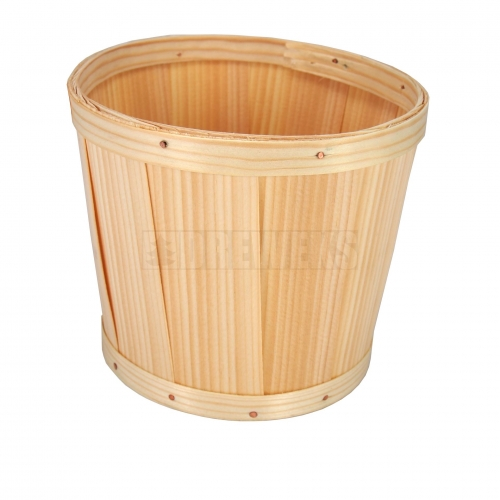 Wooden Basket - (for glass/ apple etc.)