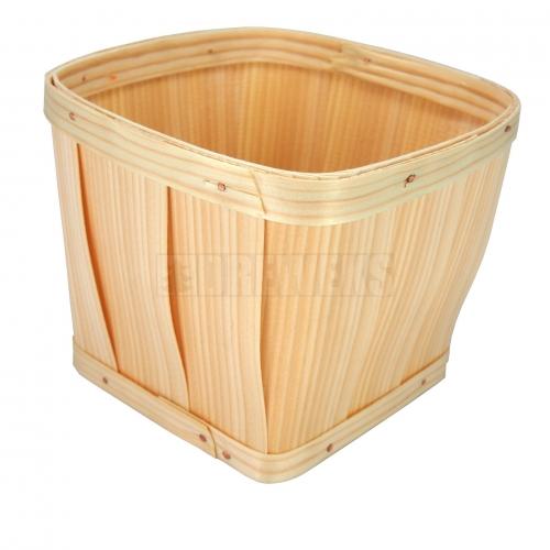 Okrągły pojemnik/doniczka z łuby