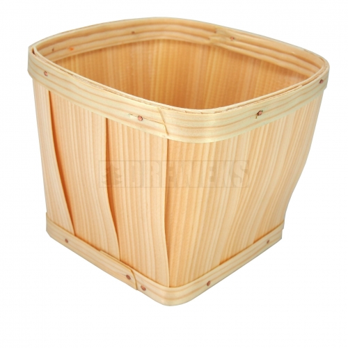 Wooden Basket/Pot - luba