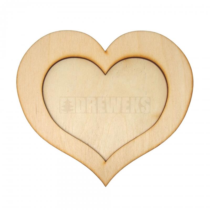 Frame - heart