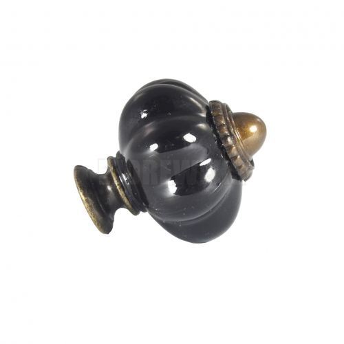 Handle, black knob
