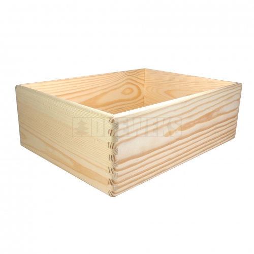 Storage box without handles - medium