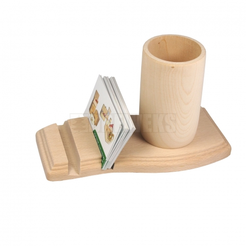 Office kit business card holder + cup