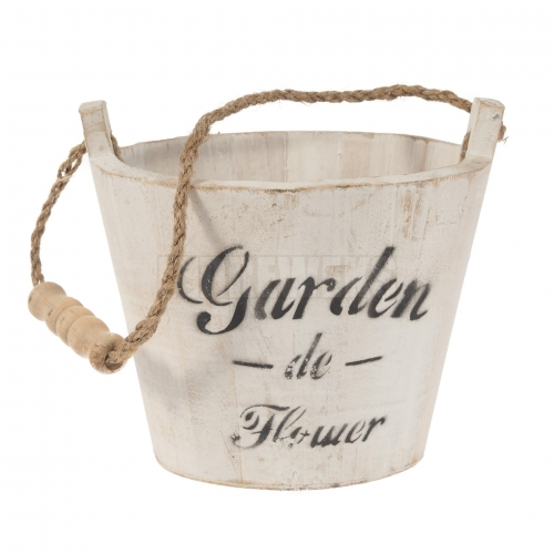 Bucket with cord