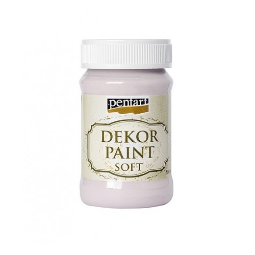 PENTART chalk paint 100 ml - baby pink