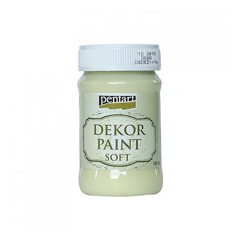 PENTART chalk paint 100 ml - yellowish green