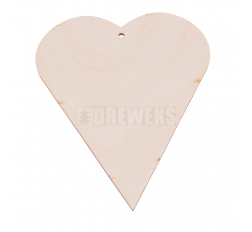 Heart cut-out - plywood/ mini