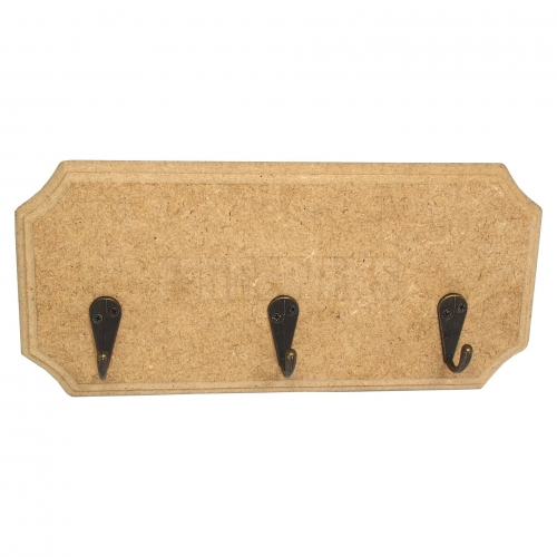 Hanger - rectangular/ MDF material/ big