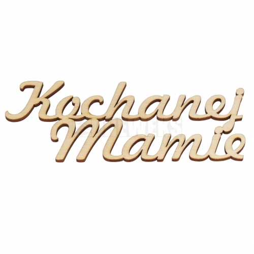 "Inscription ""Kochanej Mamie"""