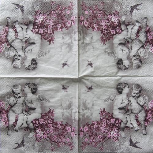 Serwetka - anioły
