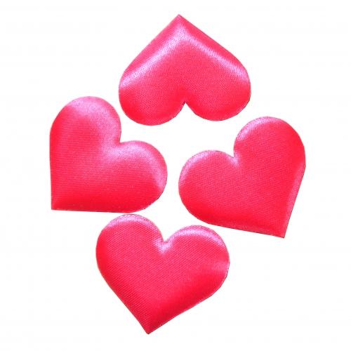 Dekoracje samoprzylepne - serca