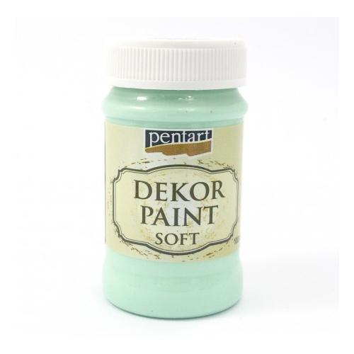 PENTART farba kredowa 100 ml - zielony turkus