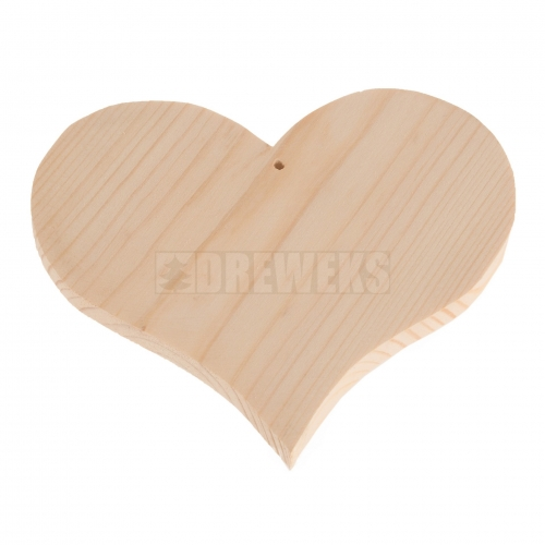 Serce drewniane 11,5cm