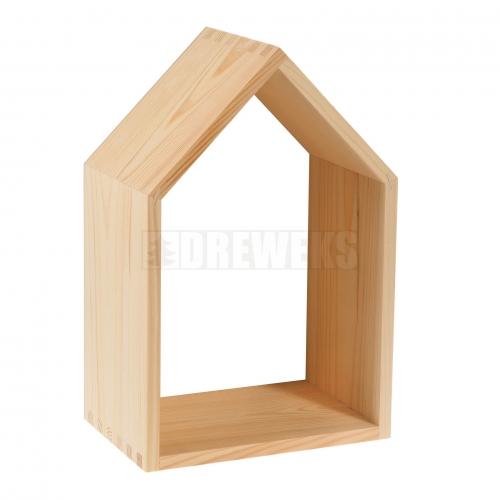House shape shelf - big