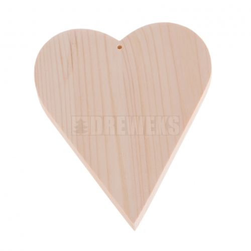 Serce drewniane H17cm