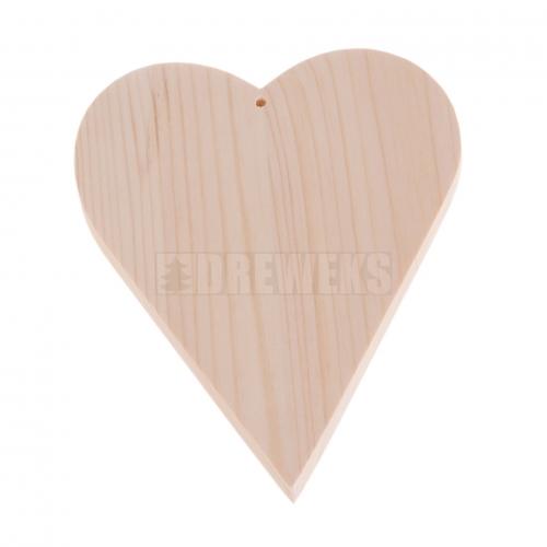 Serce drewniane H13,5cm