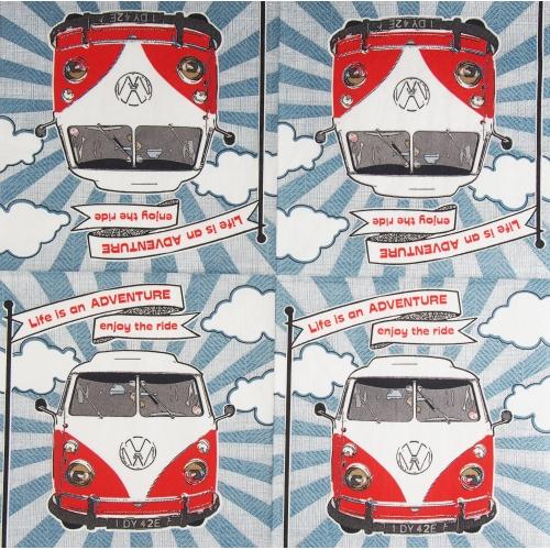 Napkin - A car