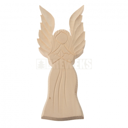 Aniołek płaskorzeźba śdedni