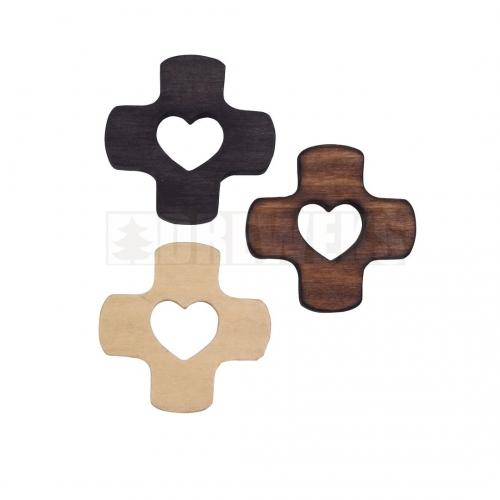 Krzyżyk z sercem