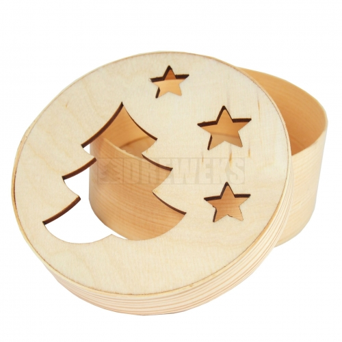 Box with stars