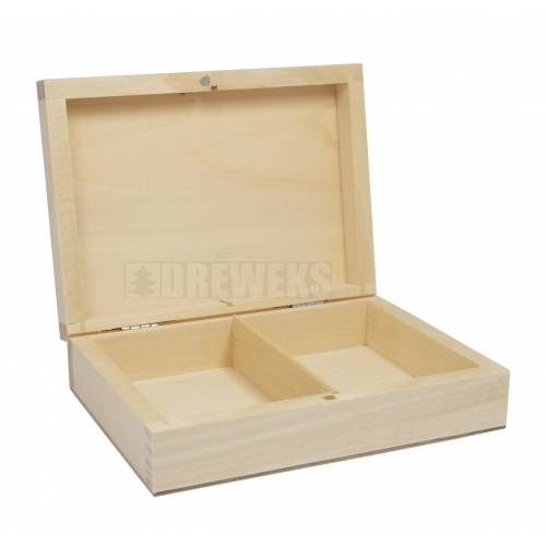 Box for cards - 2 sets/ rounded cover