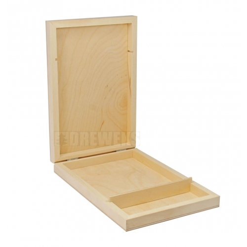 Wooden box for CD and pendrive