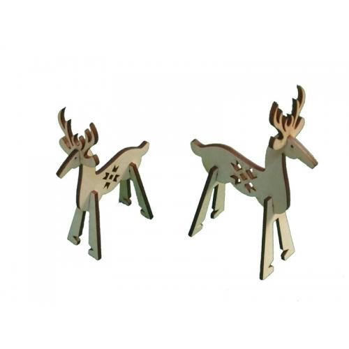 Reindeer - 3D