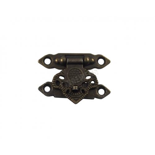 decorative clasp - dark brass