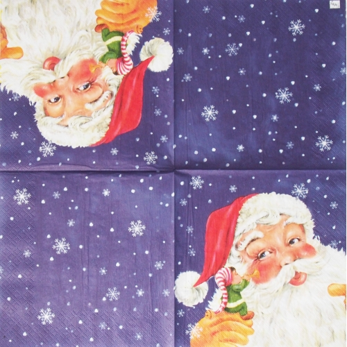 Napkin - Santa Claus