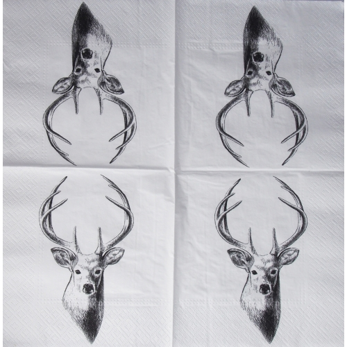 Serwetka - jeleń