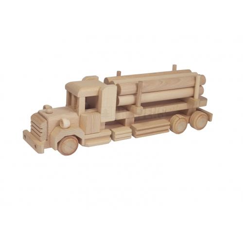 Ciężarówka z drewnem