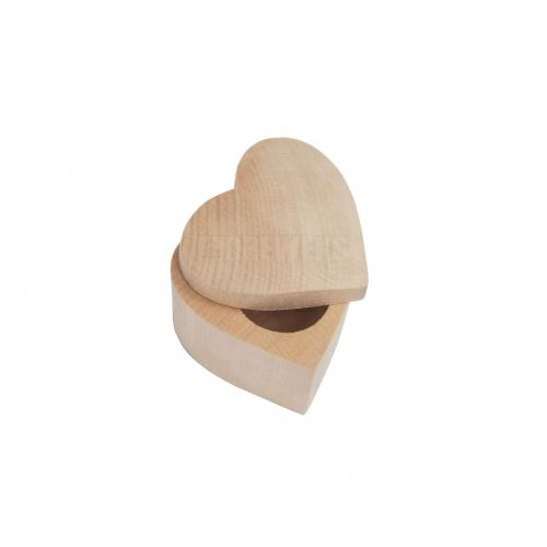 Pudełko serce 4 cm