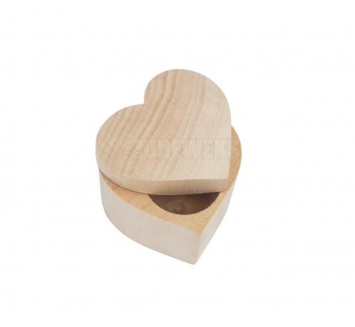 Pudełko serce 5 cm