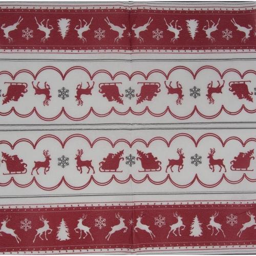 Napkin - reindeers