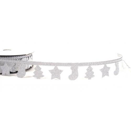 Decorative tape silver 1m