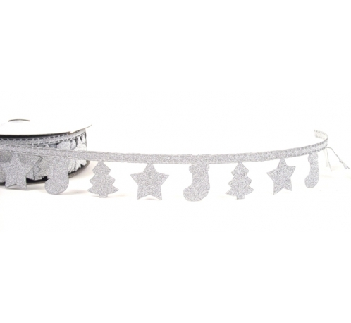 Decorative tape silver 1m