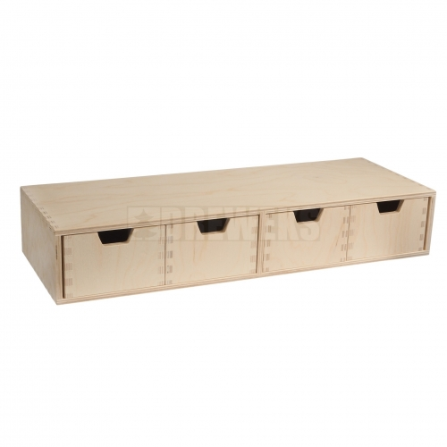 Chest of drawers - flat/ 4 drawers