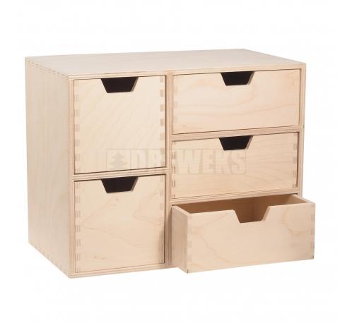 Regał z 5 szufladami