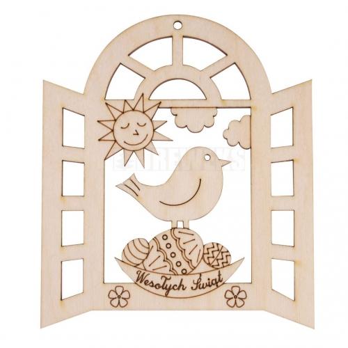 Zawieszka - ptaszek w okienku