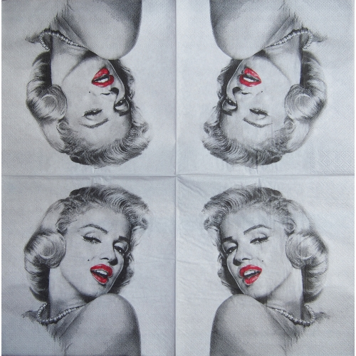 Napkin - Marilyn Monroe