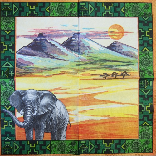Napkin - Africa