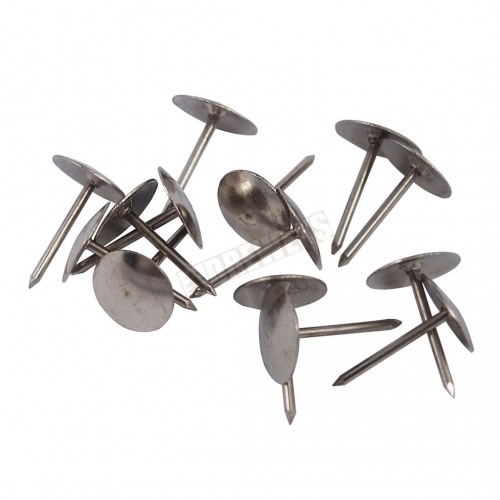 Silver drawing pins - 40 pcs