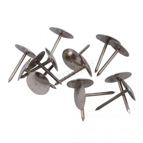 Pinezki srebrne - 40 sztuk
